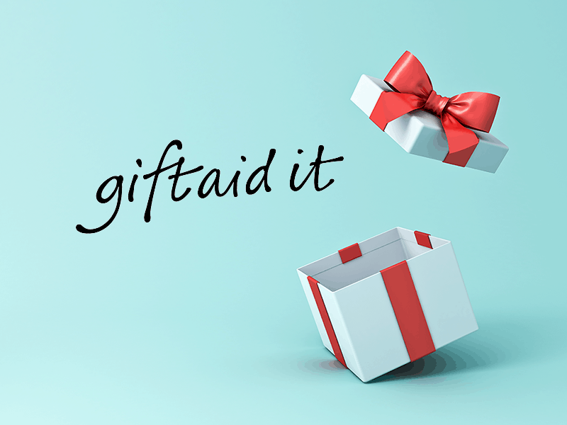 Gift of Gift Aid