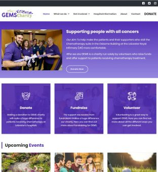 Charity Web Design - Charity Website Design